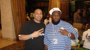 Dj Nasty with Freeway (Def Jam Recording Artist) for Miami show