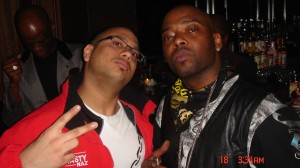 Dj Nasty with Treach of Naughty by Nature in NYC
