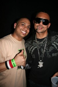 Nasty with Sean Paul while on Tour in Edmonton.